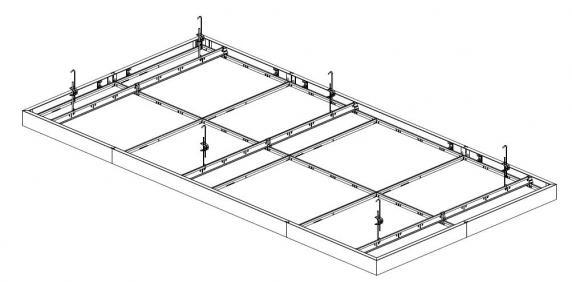 Plafond Ilôt Insula® 76A